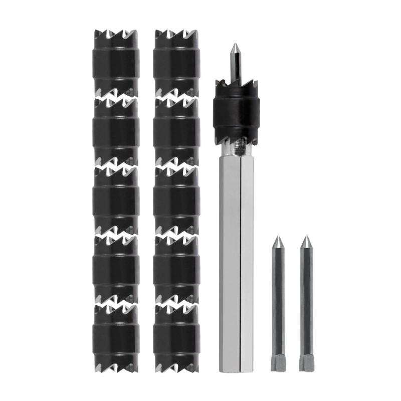 ZESTAW DO USUWANIA SPOIN PUNKTOWYCH 9.6mm (13 el.), RUKO - 1