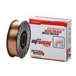 DRUT SPAWALNICZY ULTRAMAG SG2 RW 1.0mm NA SZPULI D-200 5kg, LINCOLN ELECTRIC