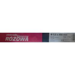 ELEKTRODA SPAWALNICZA RUTWELD 10 5.0x450mm (ODPOWIEDNIK KLASYCZNEJ RÓŻOWEJ ER146) 4.5kg, METALWELD