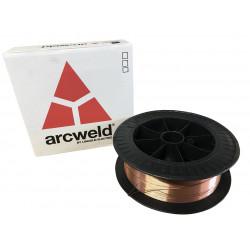 DRUT SPAWALNICZY MIG-SG2/AS2 0.8mm ARCWELD PRECYZYJNY 15kg, LINCOLN ELECTRIC